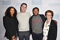 SAN RAFAEL, CA - OCTOBER 07: Taylor Russell, Trey Edward Shults, Kelvin Harrison Jr. and Zoe Elton arrive at the Centerpiece Film 'Waves' during the 42nd Mill Valley Film Festival at Christopher B. Smith Rafael Film Center on October 9, 2019 in San Rafael, California. Photo: imageSPACE for the Mill Valley Film Festival/MediaPunch