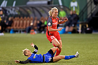 Portland, OR - Saturday May 06, 2017:  during a regular season National Women's Soccer League (NWSL) match between the Portland Thorns FC and the Chicago Red Stars at Providence Park.