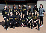 4-23-14, Huron High School JV softball team
