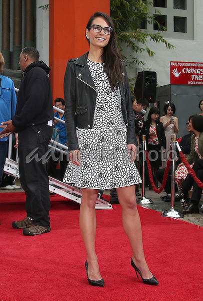 03 June 2015 - Hollywood, California - Jordana Brewster. TCL Chinese Theatre IMAX 88th Birthday Hand Print Ceremony held at the at The TCL Chinese Theatre IMAX. Photo Credit: F. Sadou/AdMedia