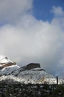 Snow Storm in the Desert