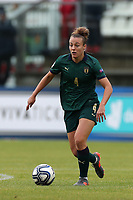 Aurora Galli of Italy<br /> Castel di Sangro 12-11-2019 Stadio Teofolo Patini <br /> Football UEFA Women's EURO 2021 <br /> Qualifying round - Group B <br /> Italy - Malta<br /> Photo Cesare Purini / Insidefoto