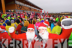 Taking part in the Santa 5k fun run at Tralee Bay Wetlands on Sunday were l-r: Shane Roche and Karl Johnson.