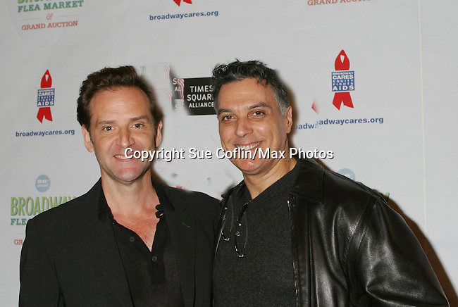 at The 26th Annual Broadway Flea Market and Grand Auction to benefit Broadway Cares/Equity Fights Aids on September 23, 2012 in Shubert Alley and Times Square, New York City, New York.  (Photo by Sue Coflin/Max Photos)