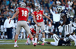 UNLV's kicker Nolan Kohorst watches his kick go wide during the second half of an NCAA college football game against Nevada, in Reno, Nev., on Saturday, Oct. 26, 2013.<br /> Photo by Cathleen Allison