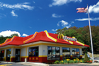 McDonald's, fast food restaurant, Cambridge, Ohio, OH