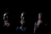 Turkana people. Kenya. Africa.