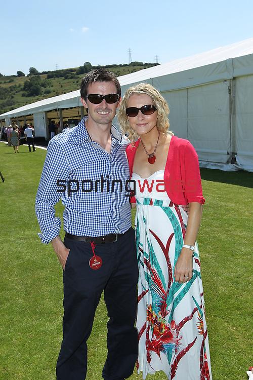 Elemis Polo At The Manor.Gareth & Alison Rees Jones.02.07.11.©Steve Pope