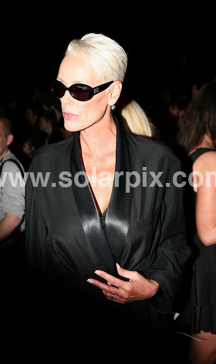 **ALL ROUND PICTURES FROM SOLARPIX.COM**                                             **WORLDWIDE SYNDICATION RIGHTS**                                                                                  Caption:    London Fashion Week. PPQ  fashion show.                                                                              This pic:   Bridget Neilson looking skinny and gaunt at the PPQ fashion show.                                                                                        JOB REF:    12112    MLW       DATE:  18.09.2010                                                          **MUST CREDIT SOLARPIX.COM OR DOUBLE FEE WILL BE CHARGED**                                                                      **MUST AGREE FEE BEFORE ONLINE USAGE**                               **CALL US ON: +34 952 811 768 or LOW RATE FROM UK 0844 617 7637**