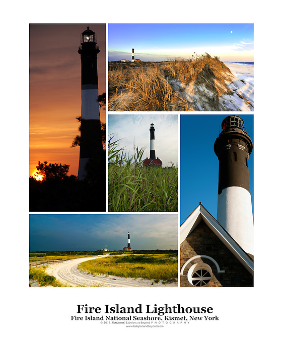 Fire Island Lighthouse Poster - Long Island Scenes