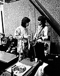 Rolling Stones 1970 Mick Jagger & Keith Richards..