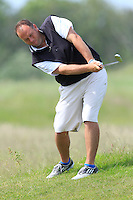 Ben Best (Rathmore) on the 6th during Round 1 of the Irish Amateur Close Championship at Seapoint Golf Club on Saturday 7th June 2014.<br /> Picture:  Thos Caffrey / www.golffile.ie