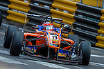 Lucas Auer races the Formula 3 Macau Grand Prix during the 61st Macau Grand Prix on November 15, 2014 at Macau street circuit in Macau, China. Photo by Aitor Alcalde / Power Sport Images