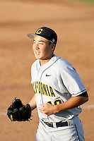Danny Oh, California Golden Bears in a series at Arizona State University, 3/26 - 3/28/2010 .Photo by:  Bill Mitchell/Four Seam Images.