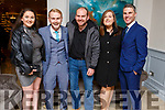 Staff of Woodies enjoying their Christmas party in the Rose Hotel on Saturday night. L-r, Louise O'Sullivan, Gary McCormack, Paul O'Sullivan, Rebecca McGovern and David O'Mahony.