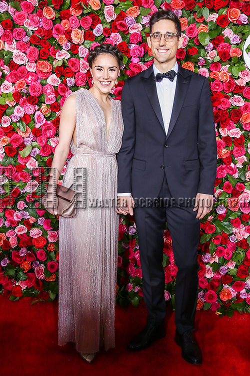 NEW YORK, NY - JUNE 10:  Patricia Delgado and Justin Peck attend the 72nd Annual Tony Awards at Radio City Music Hall on June 10, 2018 in New York City.  (Photo by Walter McBride/WireImage)