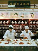 Dispensing herbal medicines...Photo taken March 2000