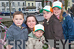 Conor, Ornagh, Oisin, Eoghan and Nicole Ferris, Listowel having a great time at the Listowel St Patrick's Day parade on Sunday.   Copyright Kerry's Eye 2008