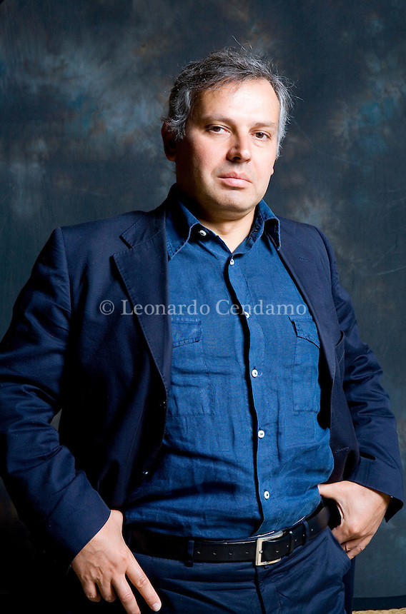 Modena, Italy, September, 2007. Armando Massarenti, Italian writer and philosopher of Science and Moral. Mr Massarenti collaborates with the Editorial Group Mauri Spagnol.