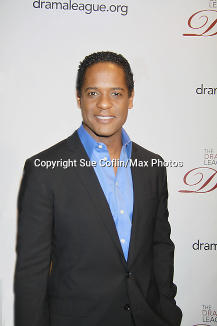 The 78th Annual Drama League Awards on May 18, 2012 at the New York Marriott Marquis, New York City, New York. (Photo by Sue Coflin) , Blair Underwood