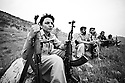 Iraq 2010 .Training of Iranian peshmergas , men and women, in a camp of Komala of Iran.Irak 2010.Entrainement de peshmergas iraniens , hommes et femmes, dans un camp du Komala d'iran