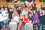 Stacey O'Sullivan, Clogher's Dr, Tralee (seated centre) celebrated her 21st birthday last Saturday night in the Munster bar, Ballymullen, Tralee with many friends and family.
