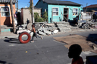 CAPE TOWN, SOUTH AFRICA - MARCH 15: Daily life on March 15, 2010 in Khayelitsha, South Africa. (Photo by Per-Anders Pettersson).