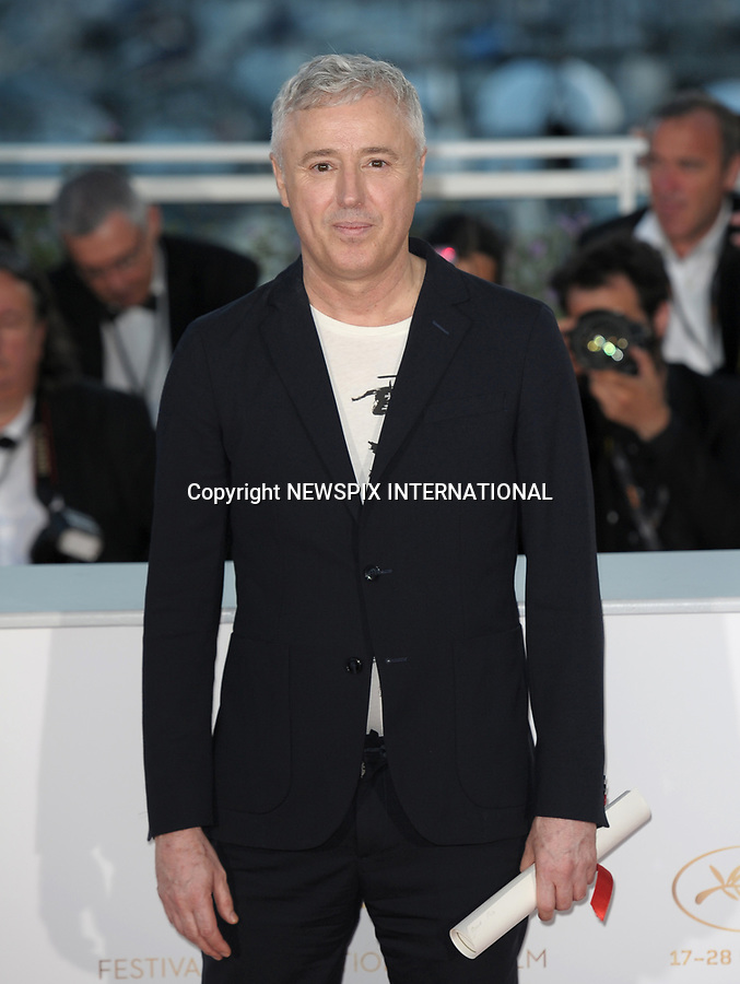 28.05.2017; Cannes, France: ROBIN CAMPILLO<br /> winner of the Grand Prix at the 70th Cannes Film Festival, Cannes<br /> Mandatory Credit Photo: &copy;NEWSPIX INTERNATIONAL<br /> <br /> IMMEDIATE CONFIRMATION OF USAGE REQUIRED:<br /> Newspix International, 31 Chinnery Hill, Bishop's Stortford, ENGLAND CM23 3PS<br /> Tel:+441279 324672  ; Fax: +441279656877<br /> Mobile:  07775681153<br /> e-mail: info@newspixinternational.co.uk<br /> Usage Implies Acceptance of Our Terms &amp; Conditions<br /> Please refer to usage terms. All Fees Payable To Newspix International