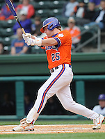 May 11, 2009: Outfielder Kyle Parker (25) of the Clemson Tigers in a game against the Furman Paladins at Fluor Field at the West End in Greenville, S.C. Photo by: Tom Priddy/Four Seam Images