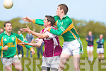 Castlegregory's Stephen Browne and Dromid Pearses Thomas Curran.