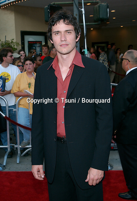 """Christian Camargo arriving at the premiere of """"K-19: The Widowmaker"""" at the Westwood Theatre in Los Angeles. July 15, 2002.           -            CamargoChristian03.jpg"""