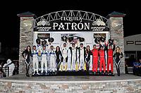 2017 IMSA WeatherTech SportsCar Championship<br /> Mobil 1 Twelve Hours of Sebring<br /> Sebring International Raceway, Sebring, FL USA<br /> Saturday 18 March 2017<br /> 66, Ford, Ford GT, GTLM, Joey Hand, Dirk Muller, Sebastien Bourdais, 3, Chevrolet, Corvette C7.R, GTLM, Antonio Garcia, Jan Magnussen, Mike Rockenfeller, 62, Ferrari, Ferrari 488 GTE, GTLM, Toni Vilander, Giancarlo Fisichella, James Calado<br /> World Copyright: Richard Dole/LAT Images<br /> ref: Digital Image RD_217_SEB576