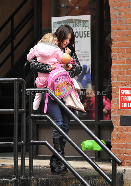 WWW.ACEPIXS.COM<br /> <br /> March 25 2015, New York City<br /> <br /> Bethenny Frankel picks up her daughter Bryn Hoppy from school in Tribeca on March 25 2015 in New York City<br /> <br /> By Line: Curtis Means/ACE Pictures<br /> <br /> <br /> ACE Pictures, Inc.<br /> tel: 646 769 0430<br /> Email: info@acepixs.com<br /> www.acepixs.com