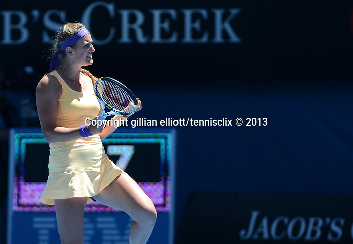 Victoria AZARENKA (BLR) wins at Australian Open in Melbourne Australia on 21st January 2013