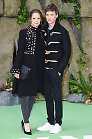 Hannah Bagshawe &amp; Eddie Redmayne at the &quot;Early Man&quot; world premiere at the IMAX, South Bank, London, UK. <br /> 14 January  2018<br /> Picture: Steve Vas/Featureflash/SilverHub 0208 004 5359 sales@silverhubmedia.com