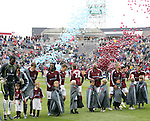 7 April 2007: 10,000 balloons in Colorado Rapids team colors were released on the field following the introduction of the team, pregame. The Colorado Rapids defeated DC United 2-1 at Dick's Sporting Goods Park in Denver, Colorado in the opening game of the MLS regular season.