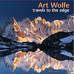 2013 Art Wolfe: Travels to the Edge Wall Calendar<br /> <br /> Once again, acclaimed nature photographer Art Wolfe takes us on a fantastic journey to the ends of the earth, where he reveals strange and alien landscapes infused with nature's phenomenal beauty and otherworldly energies. The Art Wolfe: Travels to the Edge wall calendar illuminates the spectacular and remote natural places of this world with penetrating photographic artistry.<br /> <br /> Art Wolfe is one of the most celebrated and widely published nature photographers of our time. His honors include a 2000 Alfred Eisenstaedt Award for Magazine Photography and the 1998 Nature Photographer of the Year Award from his peers. His books include Edge of the Earth, Corner of the Sky and One World, One Vision: The Photography of Art Wolfe.<br /> <br /> Wolfe is also featured in the public television series &quot;Travels to the Edge,&quot; in which he reveals stunning scenery and teaches photographic techniques.<br /> Photographer: Art Wolfe<br /> 12&quot; x 12&quot;<br /> ISBN: 9781602376069<br /> Product Code: 13TE<br /> $13.99