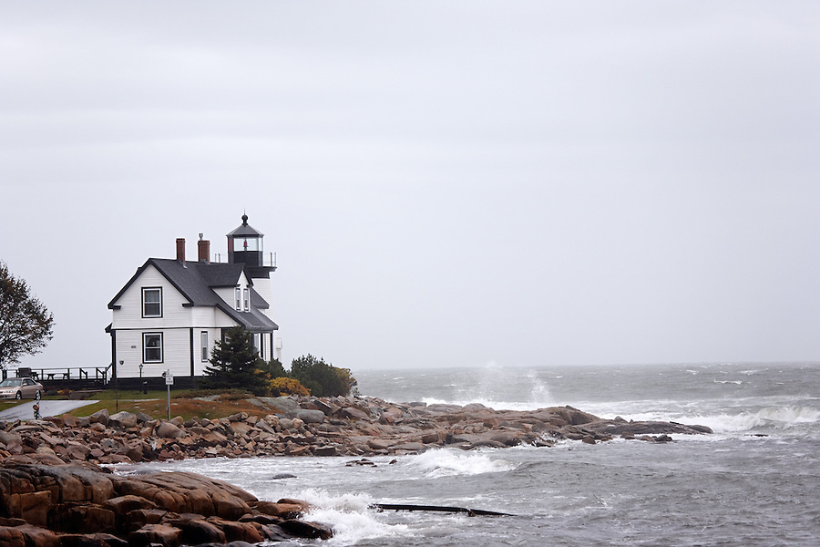 Prospect Harbor Light, Prospect, Maine, USA