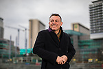 "© Joel Goodman - 07973 332324 . 22/01/2018 . Salford , UK . BOB RILEY , Chief Executive of Manchester Camerata . Former band members of the Smiths and Manchester Camerata were reported to be joining forces to create "" Classically Smiths "" which would have seen Smiths songs played live to a classical orchestral backing but now bass player Andy Rourke has said he knew nothing of the project and was never invited in the first place . Photo credit : Joel Goodman"
