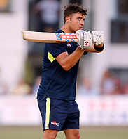 Marcus Stoinis batting practice during the Vitality Blast T20 game between Kent Spitfires and Sussex Sharks at the St Lawrence Ground, Canterbury, on Fri July 27, 2018