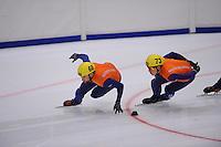 SHORTTRACK: HEERENVEEN: Thialf, Time Trials, 300911, Niels Kerstholt (68), Christiaan Bökkering (73), ©foto: Martin de Jong