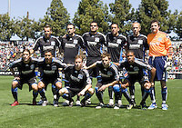 April 11, 2009: Earthquakes teammates before the game against the Fire at Buck Shaw Stadium in Santa Clara, California. San Jose Earthquakes and Chicago Fire tied, 3-3