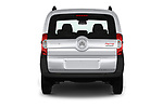 Straight rear view of a 2017 Citroen Nemo  base 5 Door Mini Van stock images