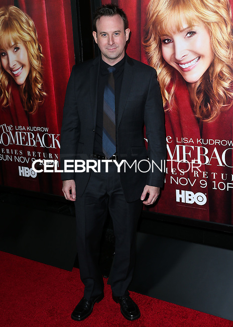 HOLLYWOOD, LOS ANGELES, CA, USA - NOVEMBER 05: Robert Bagnell arrives at the Los Angeles Premiere Of HBO's 'The Comeback' held at the El Capitan Theatre on November 5, 2014 in Hollywood, Los Angeles, California, United States. (Photo by Xavier Collin/Celebrity Monitor)