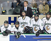 Andrew Kozek, Rastislav Spirko, Jonathan Toews, Dave Hakstol, Matt Watkins, TJ Oshie - The University of Minnesota Golden Gophers defeated the University of North Dakota Fighting Sioux 4-3 on Friday, December 9, 2005, at Ralph Engelstad Arena in Grand Forks, North Dakota.