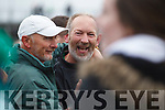Ballyduff Manager  Bobby Thornhill celebrates after the Senior County Hurling Final in Austin Stack Park on Sunday