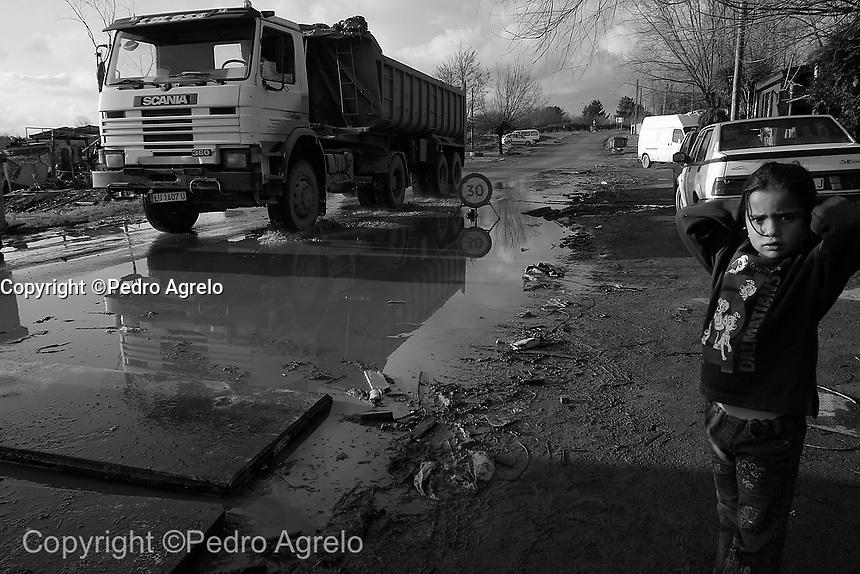 Poblado gitano en O Carqueixo en Lugo