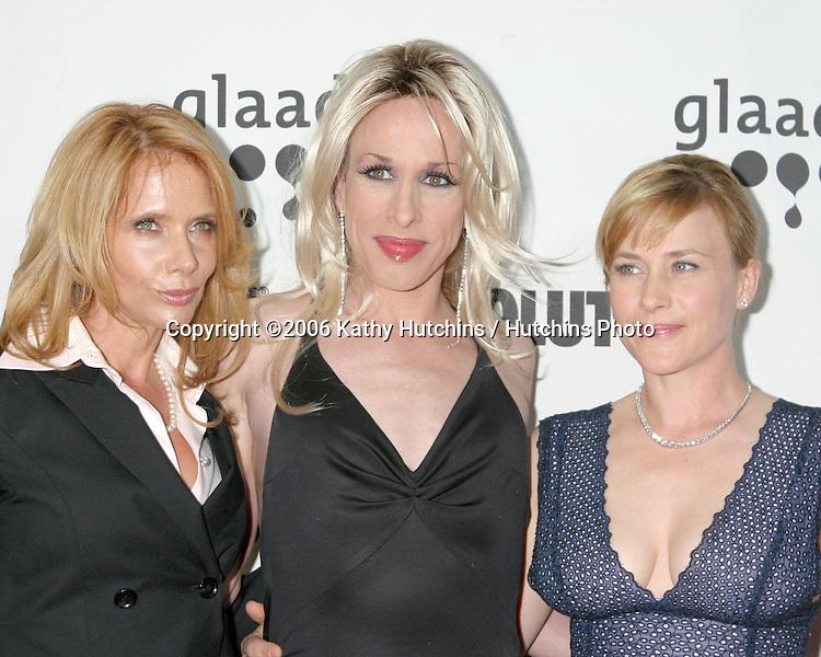 Rosanna Arquette.Alexis Arquette.Patricia Arquette.GLAAD Media Awards.Hollywood & Highland.Los Angeles, CA.April 8, 2006.©2006 Kathy Hutchins / Hutchins Photo....