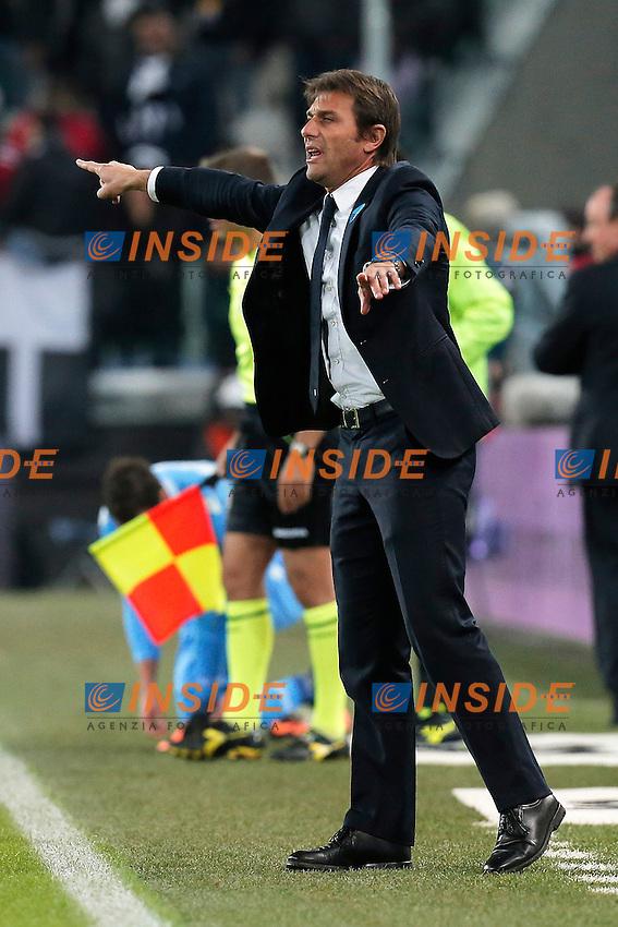 Antonio Conte Juventus, Torino 10-11-2013, Juventus Stadium, Football Calcio 2013/2014 Serie A, Juventus - Napoli, Foto Marco Bertorello/Insidefoto