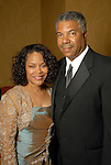 Cora and Judson Robinson III at the Houston Area's Urban League Equal Opportunity Day Gala at the Hilton Americas Houston Saturday night June 20, 2009.(Dave Rossman/For the Chronicle)